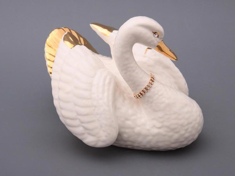Статуэтка лебеди