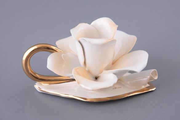 Подсвечник цветок